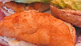 Betty's Batter-Dipped Fish Poor Boy Sandwiches