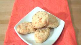Apricot Shortbread: Cookie Jar