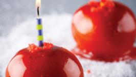 Firecracker Candied Apples