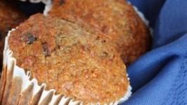 High Fiber Date Muffins