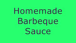 Barbeque Sauce Barbeque Chicken And Barbeque Ribs