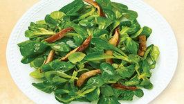 Wegmans Poached Mushroom Sherry Vinaigrette Salad