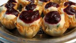 Cranberry Crabmeat Appetizers