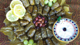 Yalanchi (Stuffed Grape Leaves)