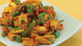 Baby Corn and Paneer Jalfrazie