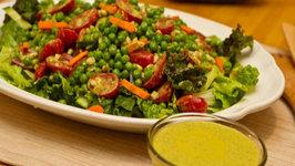 Cilantro, Lime and Tahini Salad Dressing