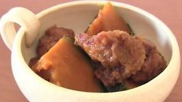 Chicken Karaage and Kabocha