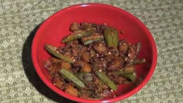Aloo Bhindi - (Potato and Okra with Indian Spices)