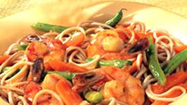 Shrimp Soba Noodles