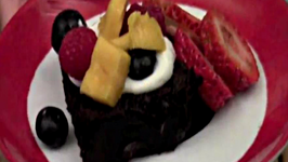 Healthy Spin on Chocolate Cake
