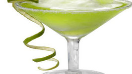 Key Lime Pie-Tini Cocktail
