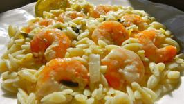 Lemon Shrimp Orzo from Maryann Ridini Spencer