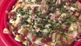 Okonomiyaki in the Microwave