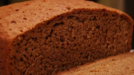 Steamed Molasses Bread