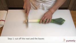 Tips To Cut A Leek