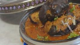 Stuffed Baby Eggplant Curry