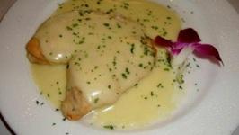 Roast Chicken with Yogurt Gravy