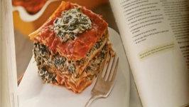 Easy Tofu Spinach Lasagna