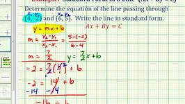 Free lessons on Graphing And Determining Linear Equations In ...