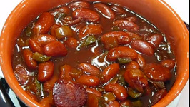 Authentic Cajun Style Beans And Franks