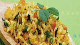 Tomato Methi Rice (Iron Rich Recipe) by Tarla Dalal