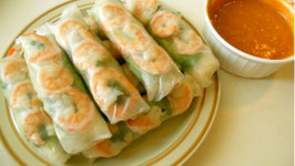 Pan Asian Summer Rolls (Goi Cuon) -- Vietnam