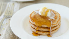 Whole Wheat Pancakes that Actually Taste Good (Breakfast)