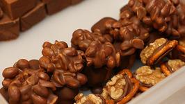 Chocolate Walnut Clusters