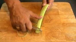 How to Peel Celery
