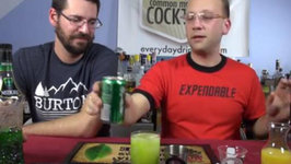 Green Lantern Cocktail, How-To