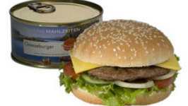 Burger in a Can