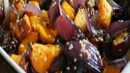 Butternut Squash, Sweet Potato and Red Onion Side