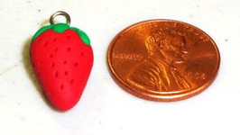 How To Make Polymer Clay Strawberry Earrings
