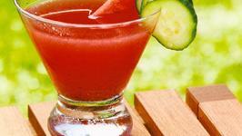 Watermelon-Cucumber Refresher