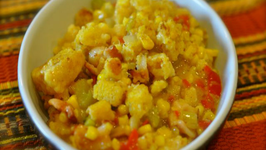 Lubys Spanish Indian Baked Corn