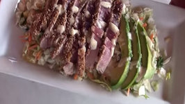 Seared Blue Fin Tuna Recipe on the Island Grillstonei