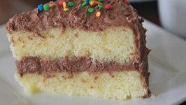 Fluffy, Moist Yellow Cake From Scratch