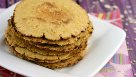 Mini Oats Khakhra (Iron Rich Recipe for Kids)