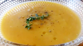 Christmas Giveaway Winner Butternut Squash Soup