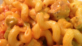 Pasta with Pepper-Tomato sauce