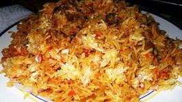 Healthier Malabar Mutton Biryani