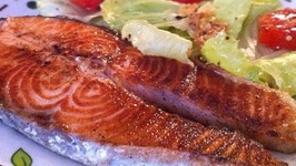 Elegant Barbecued Salmon
