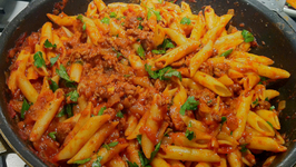 Emergency Pasta with Minced Beef