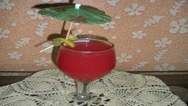 Watermelon Juice with Desi Tadka