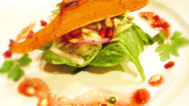 Delicious Roasted Butternut Squash And Pomegranate Salad