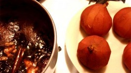 Ruby Jewelled Pears