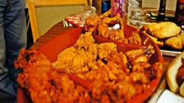 Super Bowl Party Wings
