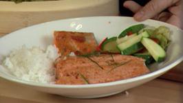 Salmon with Thai Curry Sauce