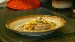 Grilled Tuna with Mango Salsa