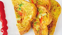 Masala Egg Toast Recipe- Quick Meal Ideas